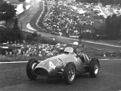 Historia del Gran Premio de Bélgica: de 1950 a 1966