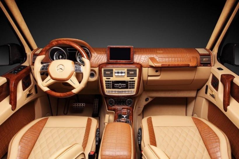 TopCar viste de cocodrilo al Mercedes-Benz G65 AMG de Hamann