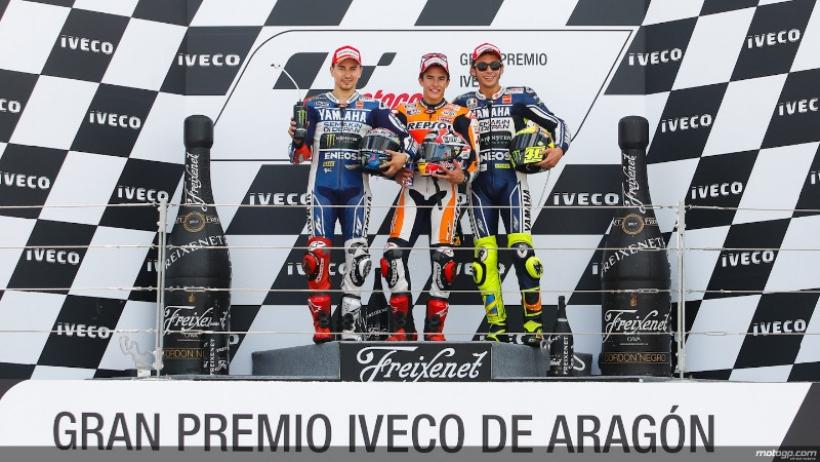 Polémica victoria de Marc Márquez en Motorland