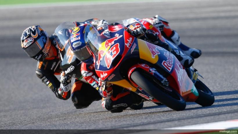 Victoria de Rins en Moto 3 y nuevo triplete español