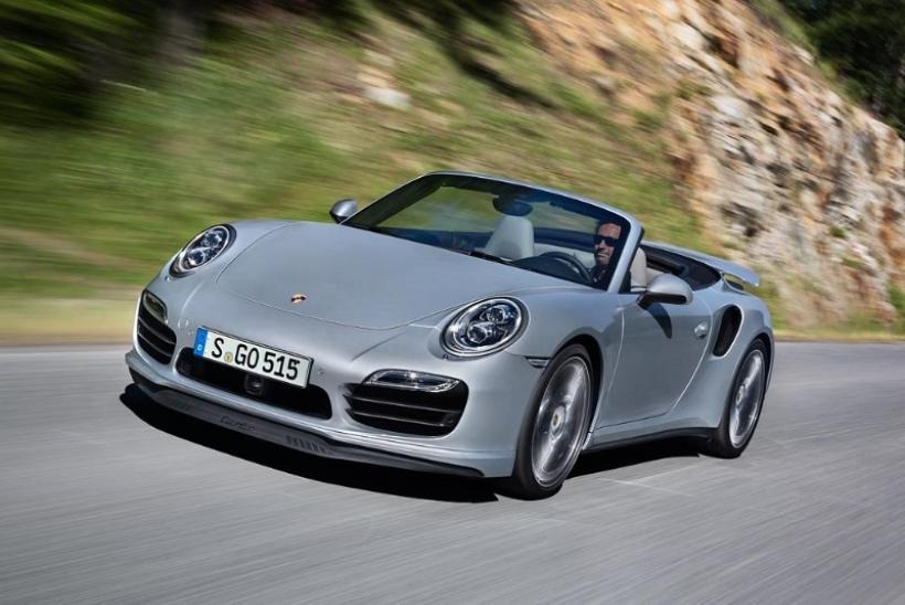 Porsche 911 Turbo Cabriolet 2014, a cielo abierto