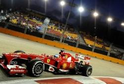Brillante pole de Vettel en Singapur