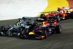 La victoria más sobrada de la temporada para Vettel