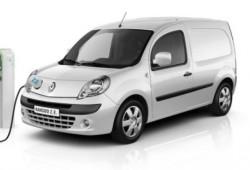 Renault supera las 10.000 unidades vendidas de la Kangoo Z.E., la furgoneta eléctrica