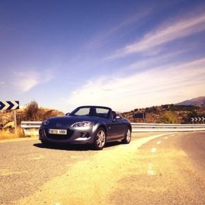 Prueba Mazda MX-5, al volante (IV).