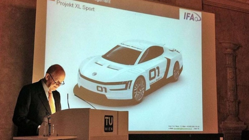 Volkswagen XL Sport con motor Ducati será desarrollado por la Universidad de Viena