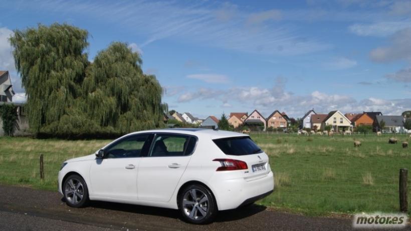 Presentación nuevo Peugeot 308 en Francia, exterior. Parte I
