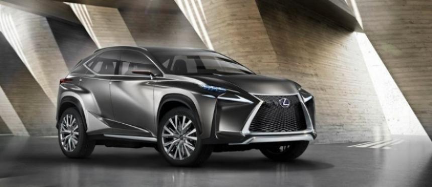 Lexus LF-NX Concept, el nuevo SUV compacto premium