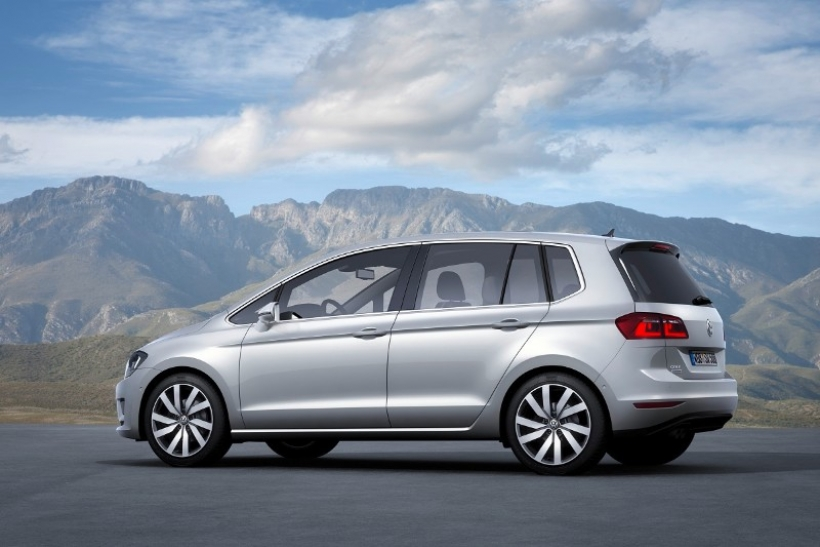 Nuevo Volkswagen Golf Sportsvan, el sucesor del Golf Plus en Frankfurt.