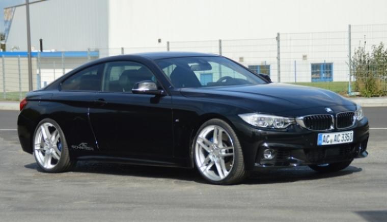 Más potencia para el BMW Serie 4 Coupe, por AC Schnitzer