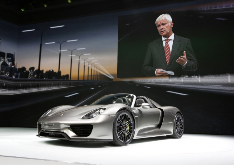 El Porsche 918 Spyder se presenta