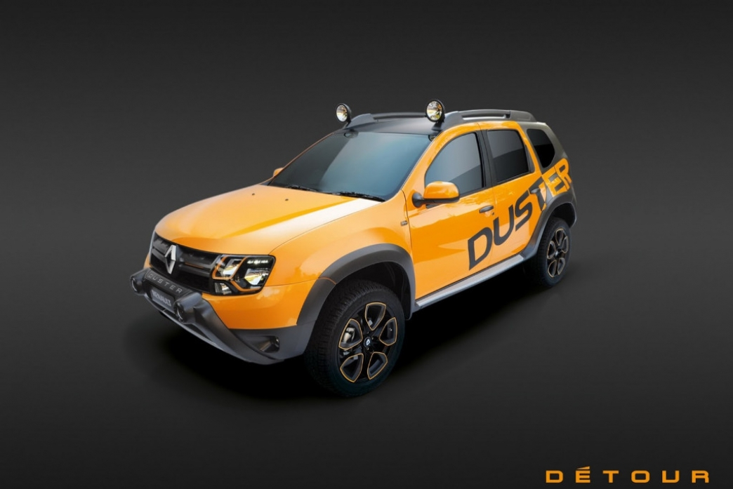Dacia Duster Detour Concept, de Sudáfrica para el mundo