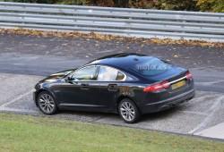 Jaguar XF 2015, fotos espía en Nürburgring