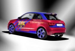 Dos Audi R8 se enfrentan en la campaña del Clásico Barcelona - Real Madrid