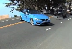 El BMW M3 2014, grabado en vídeo completamente al desnudo