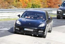 La nueva generación del Porsche Panamera, cazada en pruebas en Nürburgring