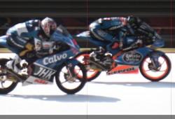 Márquez gana su primera carrera. Salom y Rins K.O.