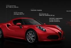Ya puedes configurar tu Alfa Romeo 4C