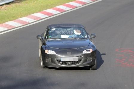 Mazda MX-5 2015, su nueva plataforma se enfrenta a las pruebas en Nürburgring