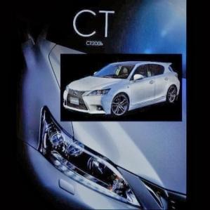 Lexus CT 200h 2014, filtrado su inminente restyling