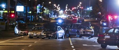 Mujer de 62 años provoca un accidente múltiple de hasta 16 coches