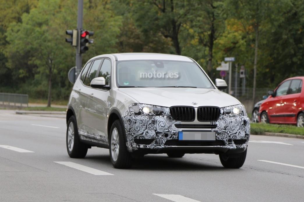 Nuevo BMW X3 2014 espiado