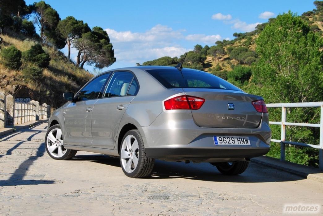 Seat Toledo 1.6 TDI 105 CV (II): Diseño exterior, interior, equipamiento, habitabilidad y maletero