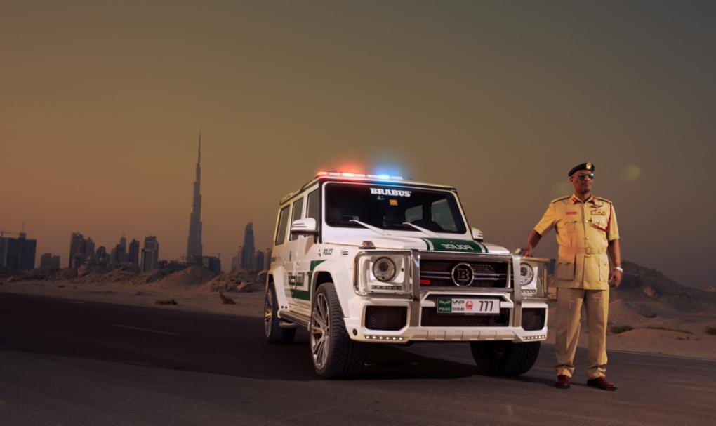 La Policía de Dubái amplía su colección