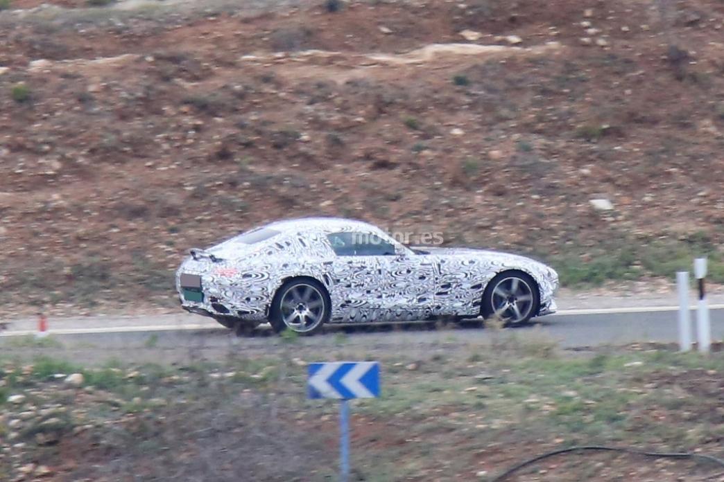 Mercedes-Benz AMG GT 2015, nuevas fotos espía