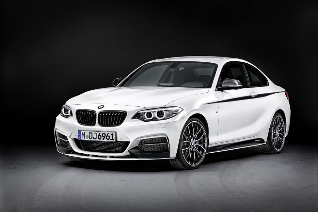 El BMW Serie 2 Coupe estrena accesorios M Performance