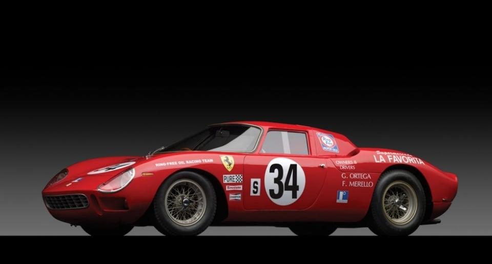 Ferrari 250 LM de 1964, un clásico subastado por más de diez millones de euros