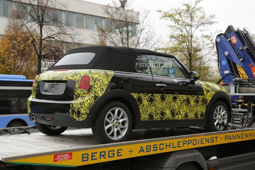 El MINI Cooper Cabrio 2014 sale a la luz
