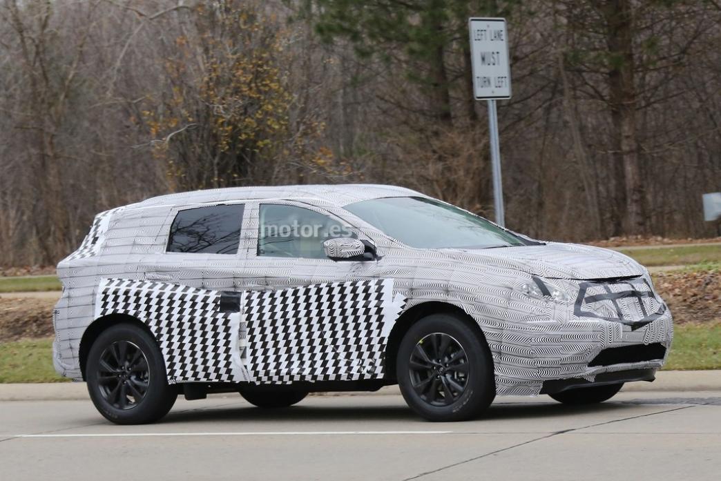 El Nissan Murano 2015 se deja ver por primera vez
