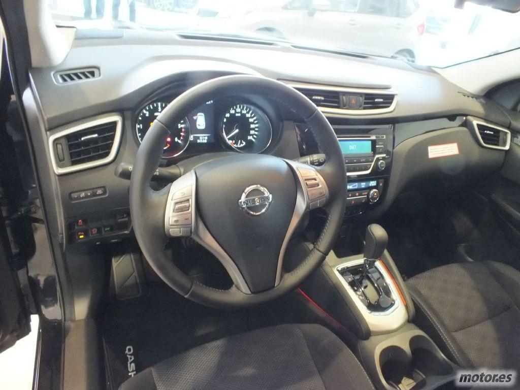 Fotos nissan qashqai 2014 y detalles de equipamiento for Nissan qashqai 2014 interior