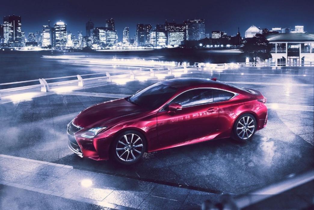 Lexus RC, un nuevo coupé híbrido de llamativo diseño
