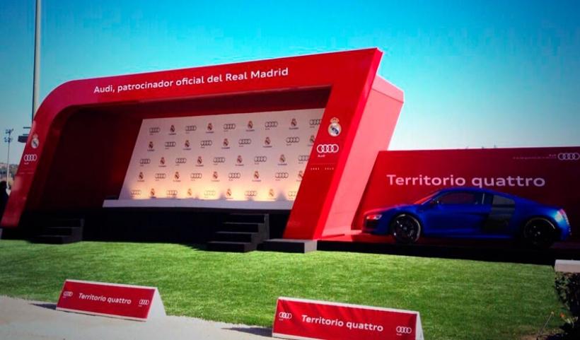 Los nuevos Audi de los jugadores del Real Madrid, Cristiano Ronaldo elige el RS6 Avant