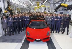 Adiós al Lamborghini Gallardo: se fabrica su última unidad