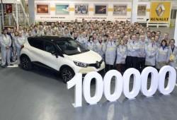 La planta de Valladolid fabrica el Renault Captur número 100.000