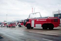 Magirus establece la fábrica de camiones de bomberos más grande del mundo