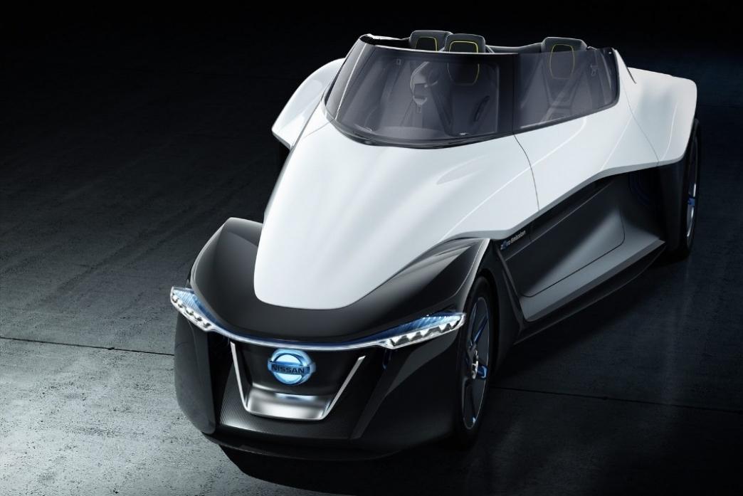 Nissan BladeGlider Concept, un prototipo eléctrico muy poco convencional