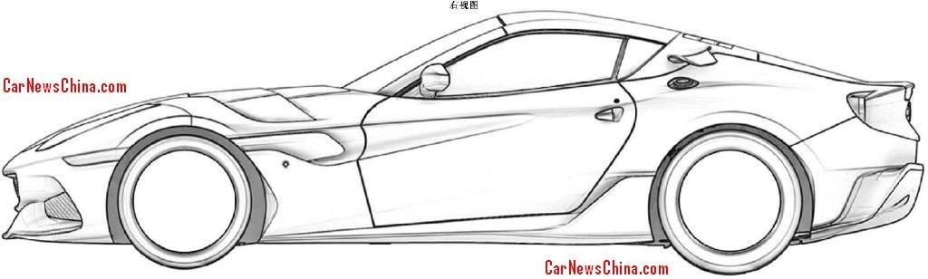 Ferrari Sp Arya Filtradas Las Im 225 Genes De La Patente