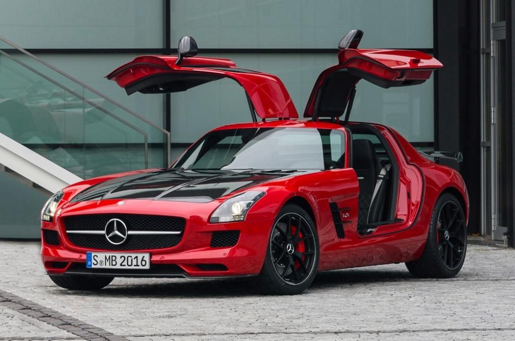 Mercedes SLS AMG GT Final Edition, despedida para el último alas de gaviota