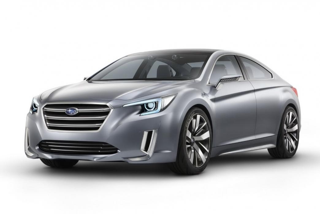 Subaru Legacy Concept, el anticipo de una futura berlina