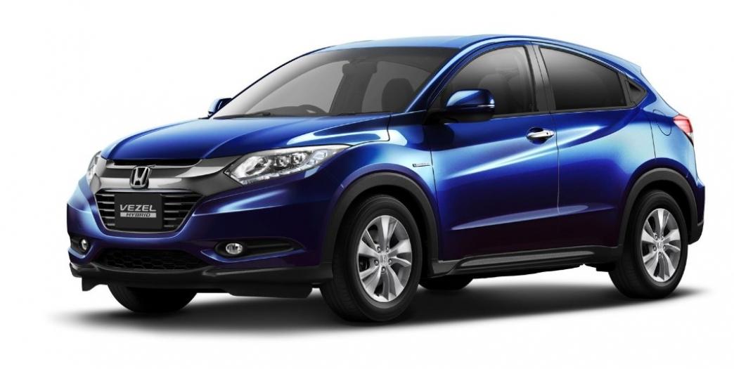 Honda VEZEL, así es el Honda Urban SUV de producción