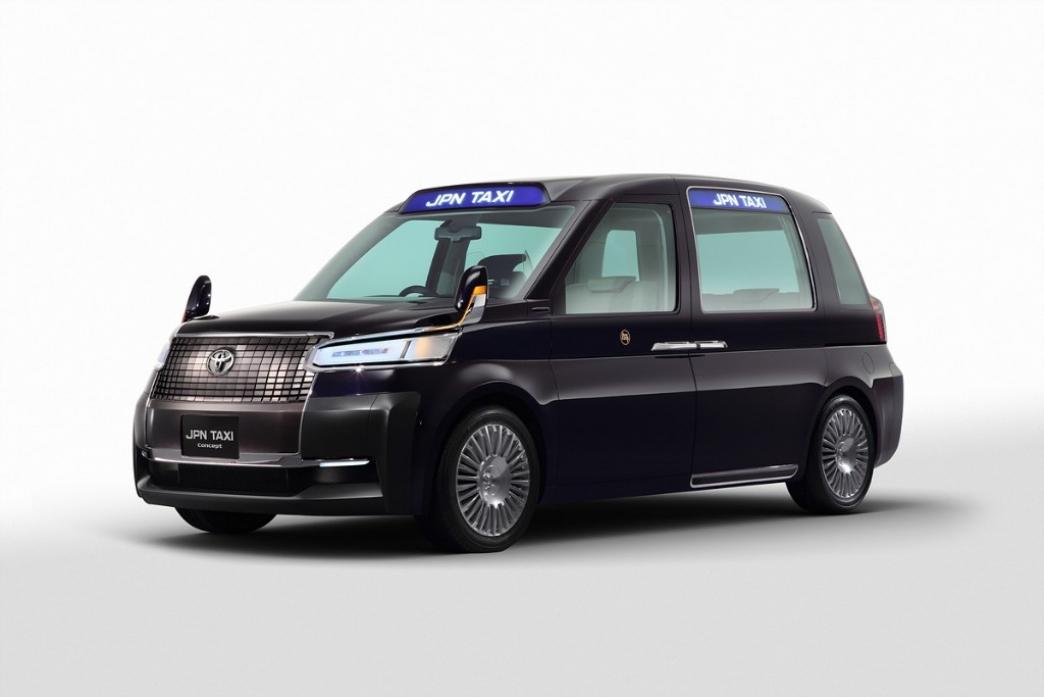 Toyota presenta el taxi del futuro