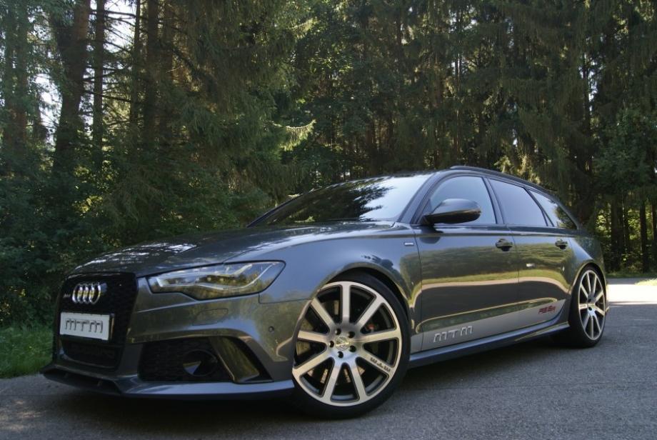 MTM Audi RS6: 722 CV para llevar a la familia