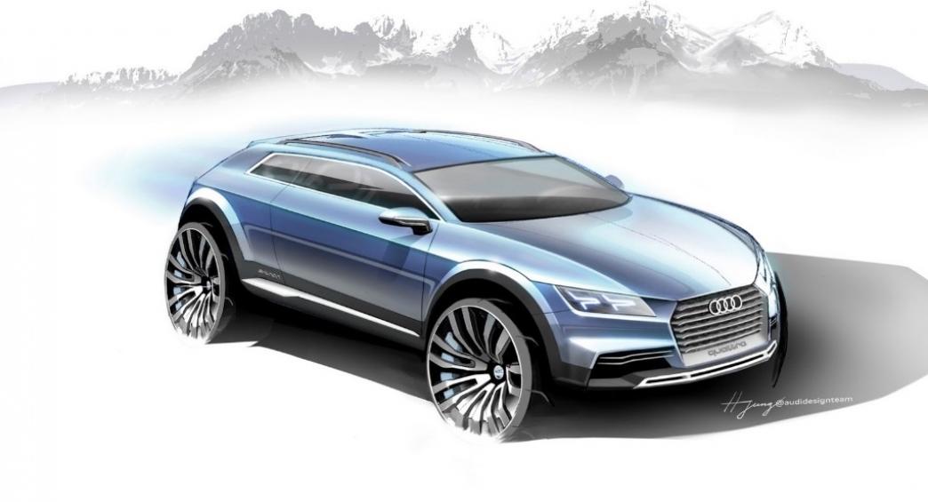 Audi presentará en Detroit un nuevo prototipo de crossover coupé urbano