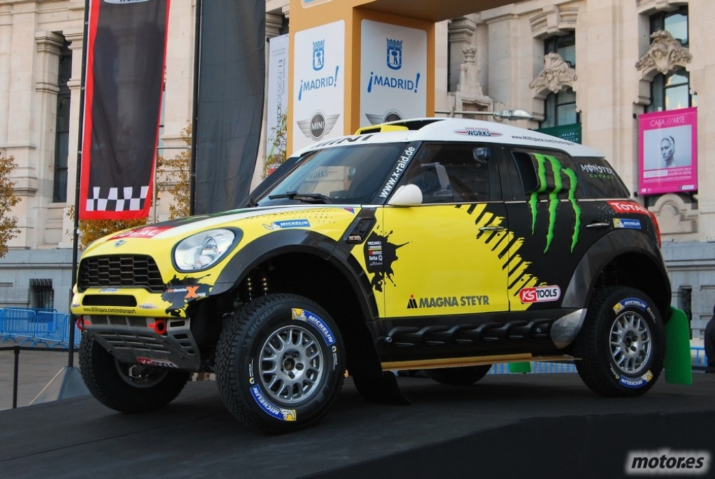 MINI presenta el ALL4 Racing del Dakar 2014