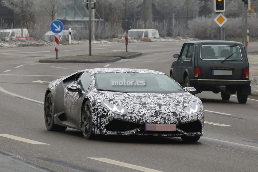 Lamborghini Huracán 2014, nuevas imágenes del sucesor del Gallardo