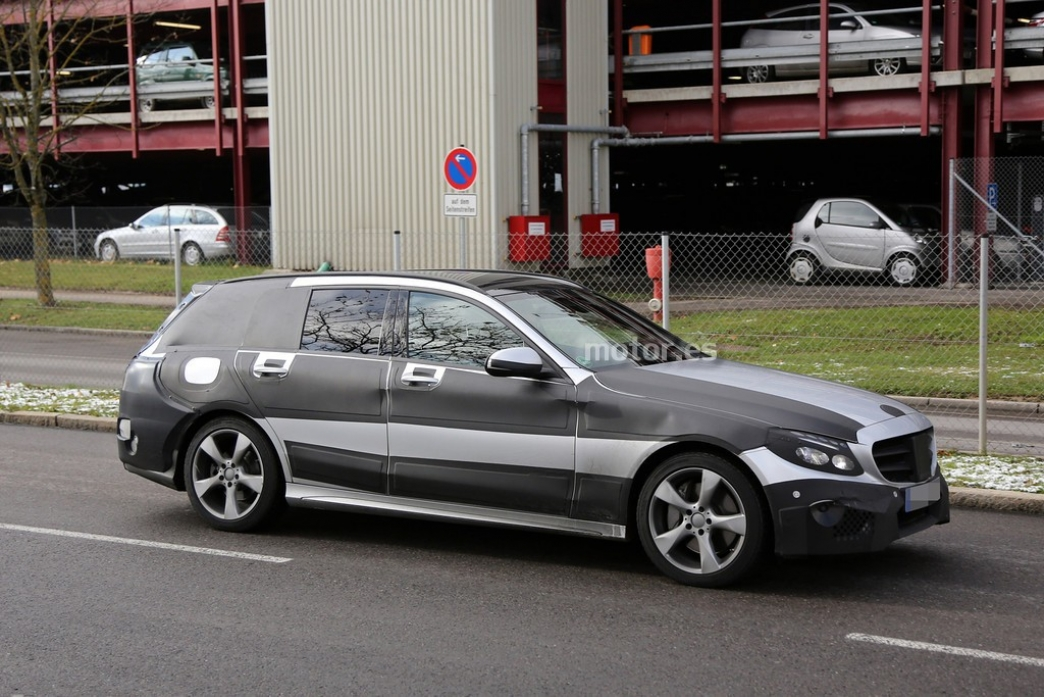 Mercedes Clase C Estate 2015, fotos espía